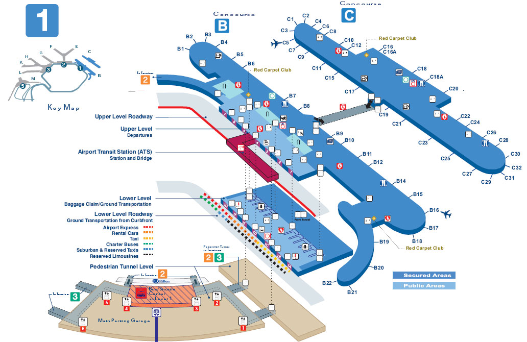 Ord Terminal 3 Map  Bing Images